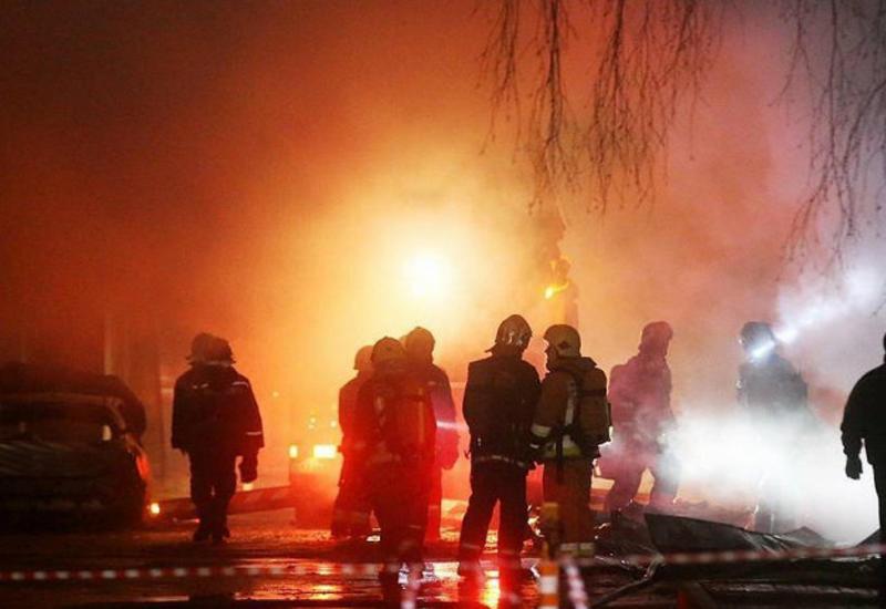 Момент взрыва на рынке в Краснодаре попал на видео