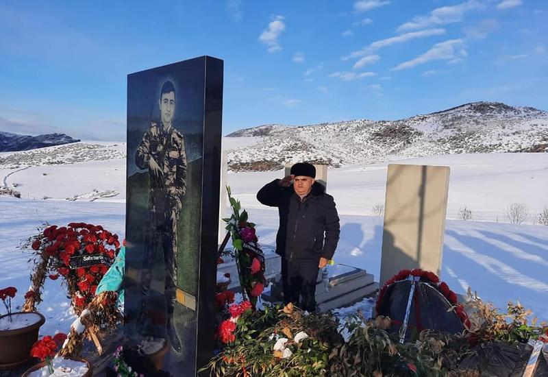 Арзу Нагиев посетил могилы шехидов в Товузе и Гедабеке, встретился с их семьями