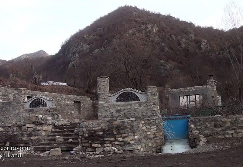 Село Гамышлы Кельбаджарского района