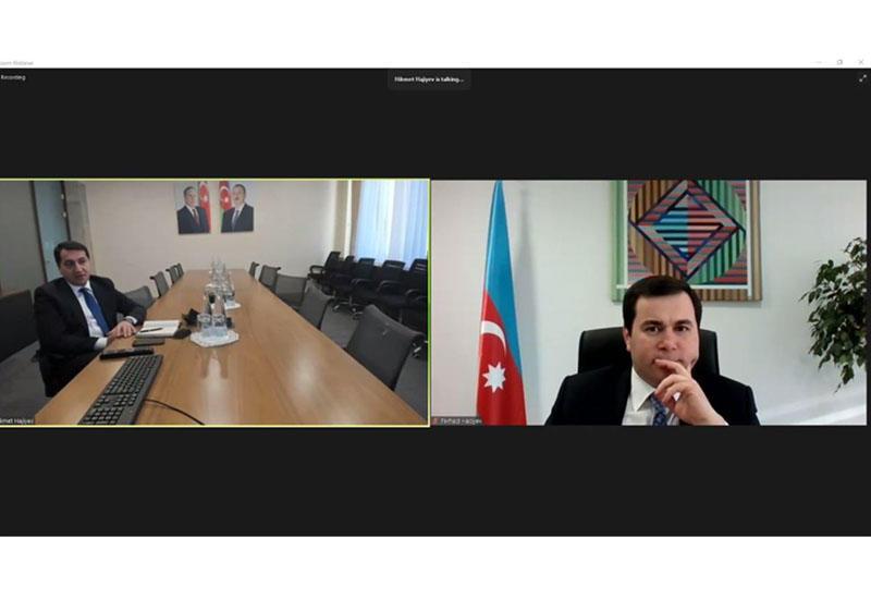 """Конкурс """"Восхождение"""" организовал вебинар с презентацией Хикмета Гаджиева"""