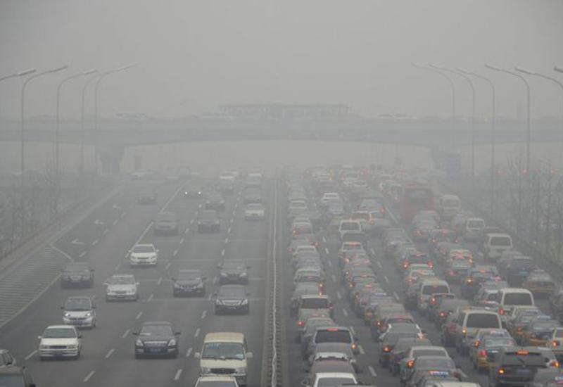 Загрязнение воздуха в Пекине в восемь раз превысило норму ВОЗ
