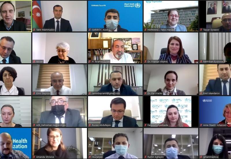 ВОЗ встретилась с участниками проекта по предотвращению смертей в период пандемии в Азербайджане