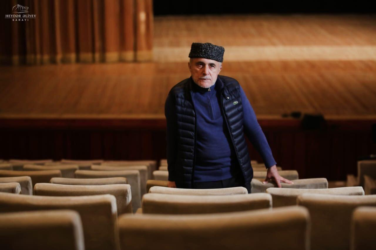 Алим Гасымов в новом проекте Дворца Гейдара Алиева