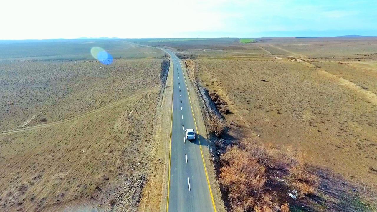 Новая дорога в Самухском районе