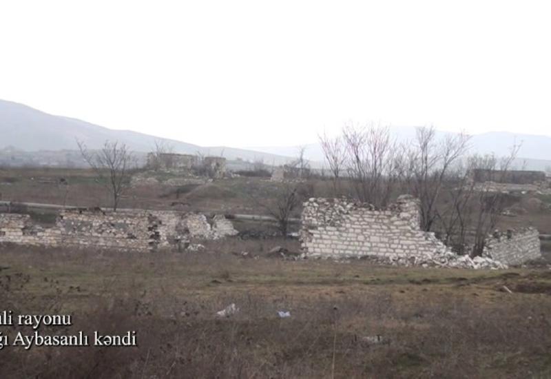 Село Ашагы Айбасанлы Физулинского района