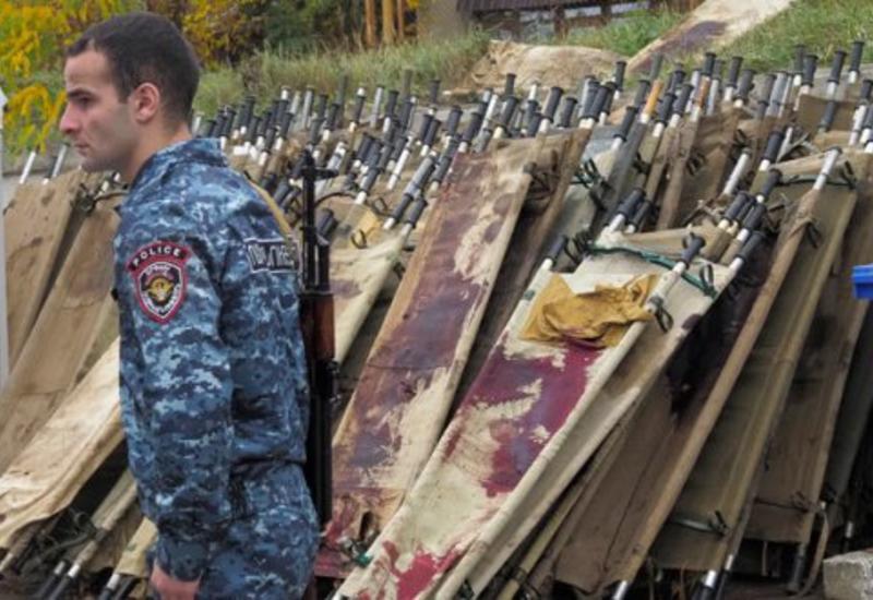 В Армении заявили о потерях 6000 человек в Карабахе