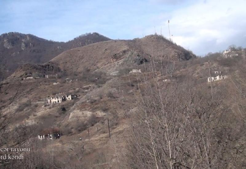 Село Джомерд Кельбаджарского района