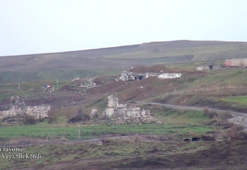 Минобороны показало еще одно село Физулинского района