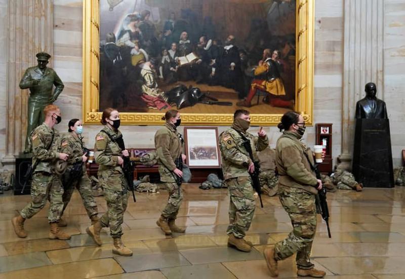 5000 бойцов Нацгвардии останутся в Вашингтоне до весны