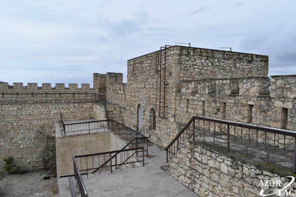 Крепость Шахбулаг, построенная Панахали ханом