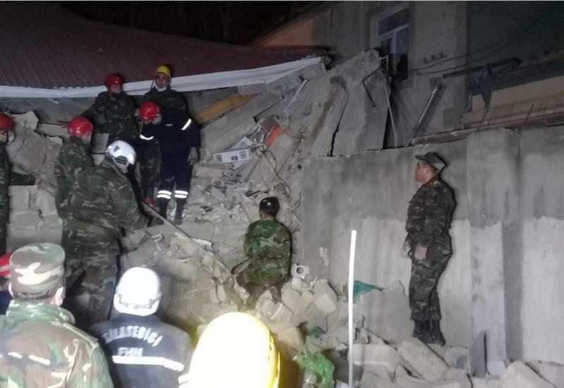 """""""Азеригаз"""" о сильном взрыве в Хырдалане"""