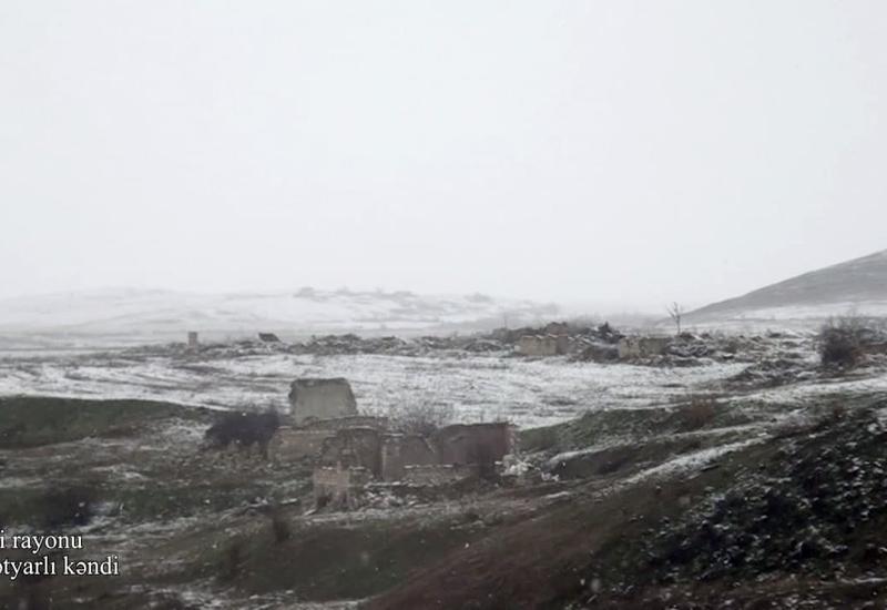 Разрушенное армянами село Довлетярлы Физулинского района