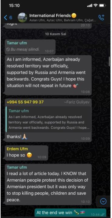Интересная акция от азербайджанского студента, обучающегося в Польше