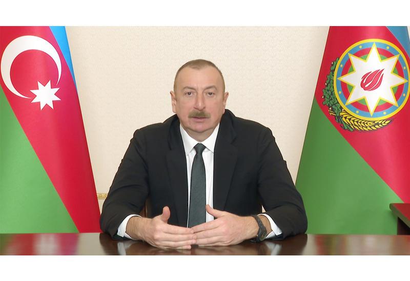 """Президент Ильхам Алиев: Города и села на освобожденных территориях необходимо создавать на основе концепции """"smart-city"""", """"smart-village"""""""