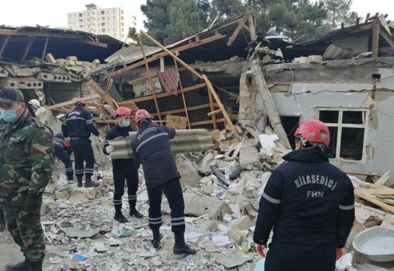 МЧС Азербайджана завершил поисково-спасательные работы в Хырдалане