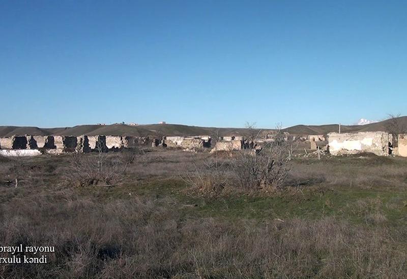 Первые кадры из освобожденного села Кархулу Джабраильского района