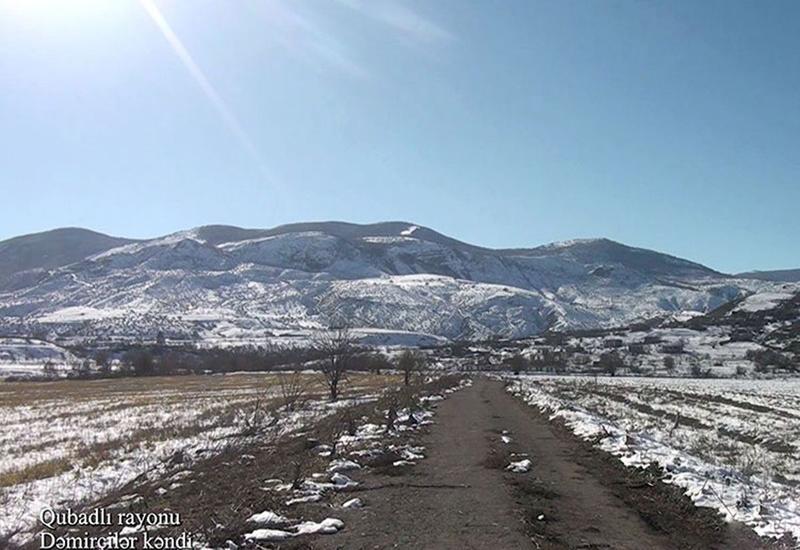 Село Демирчиляр Губадлинского района