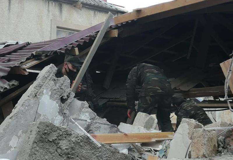 """""""Азеригаз"""" о взрыве в Хырдалане"""