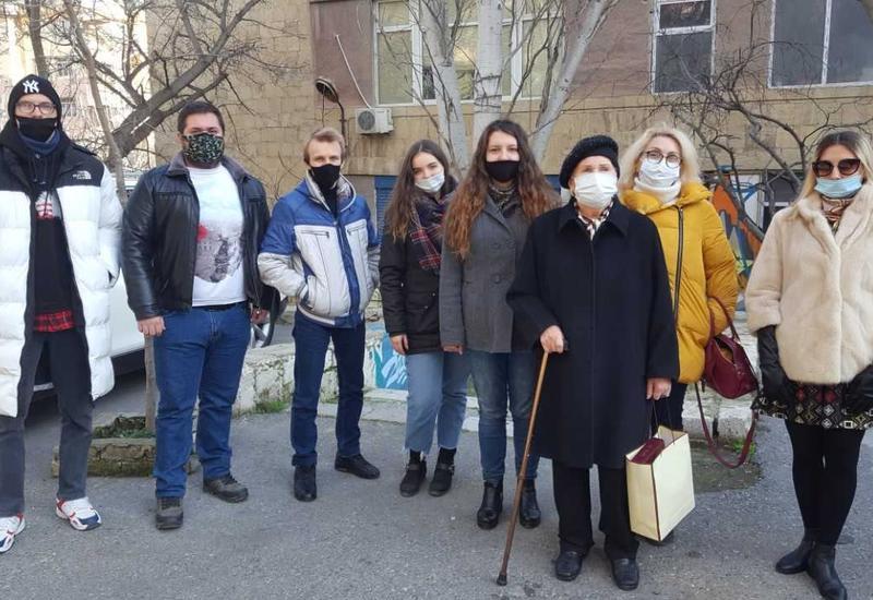 В Баку прошла встреча с блокадниками Ленинграда