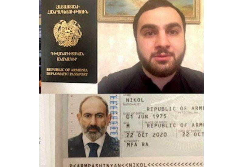 Протестующие украли дипломатический паспорт Пашиняна