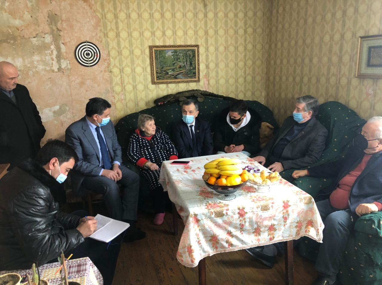 Представители ПЕА встретились с русскими, участвовавшими в Отечественной войне