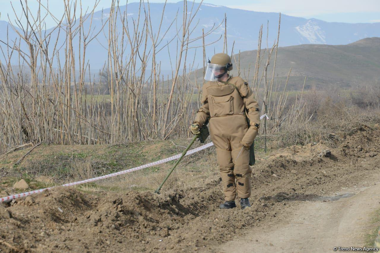 Физули очищается от мин и неразорвавшихся боеприпасов