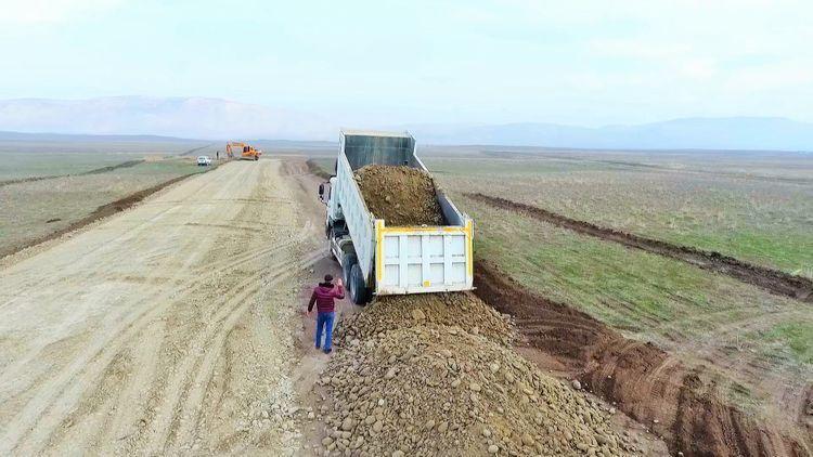 Строится новая дорога к заповеднику «Кешикчидаг»