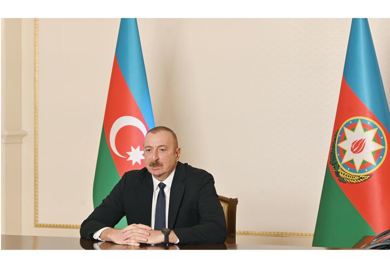 Президент Ильхам Алиев: Якобы Шуша передана нам просто так, без боя, армяне покинули Шушу. Это наглая ложь!