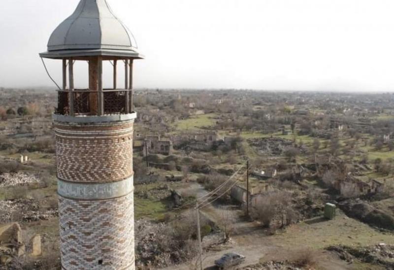В Джебраиле, Зангилане, Губадлы, Агдаме проводится мониторинг памятников