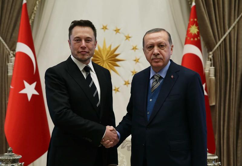 Эрдоган и Маск обсудили сотрудничество в сфере космических технологий