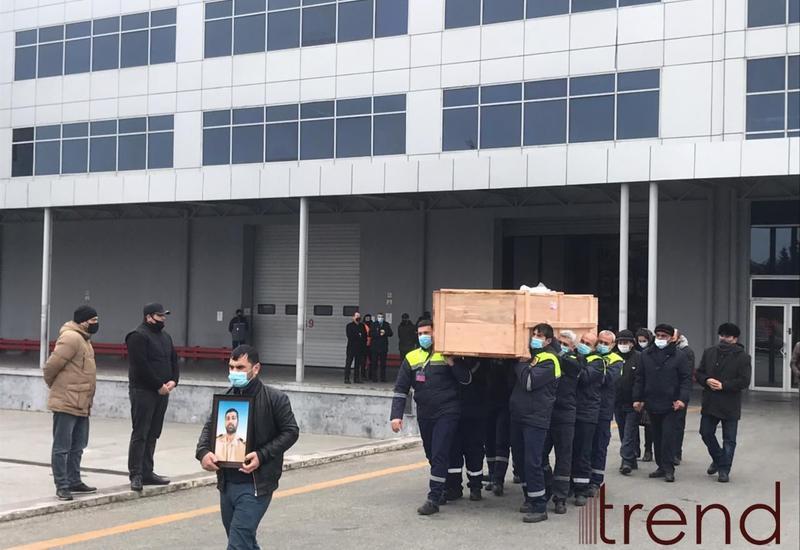 Тело убитого пиратами азербайджанца доставлено в Баку