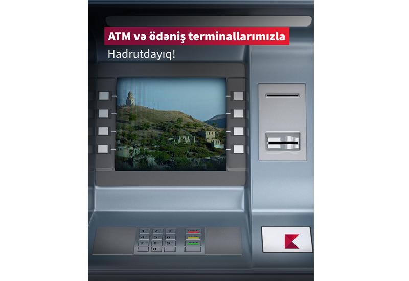 Kapital Bank установил в Гадруте банкомат и платежный терминал (R)