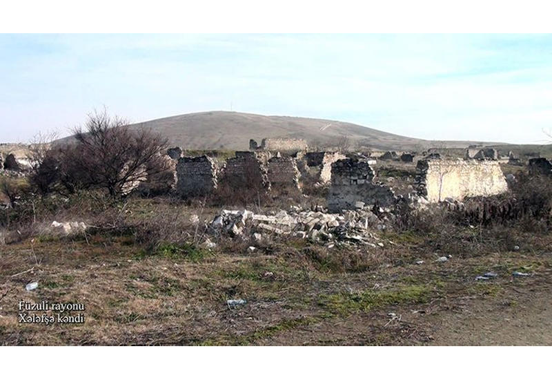 Село Халафша Физулинского района