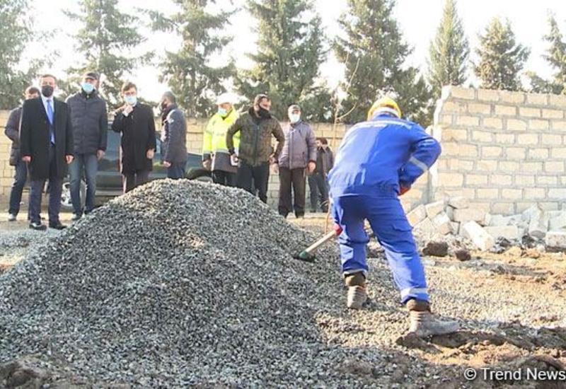 В Тертере восстанавливаются пострадавшие от армянских атак дома