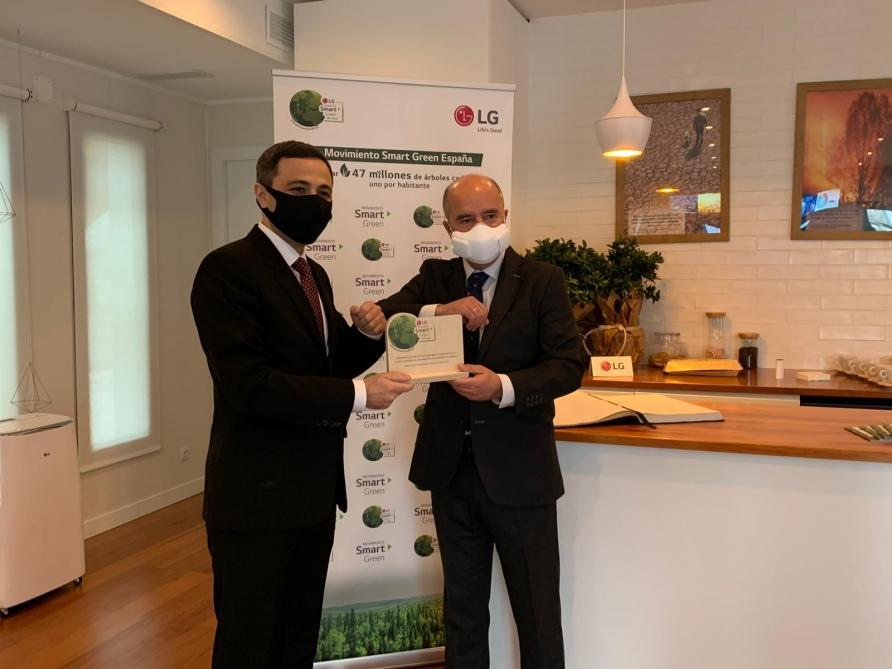 В Испании удостоена награды акция по посадке 650 тысяч деревьев в Азербайджане, инициированная Первым вице-президентом Мехрибан Алиевой