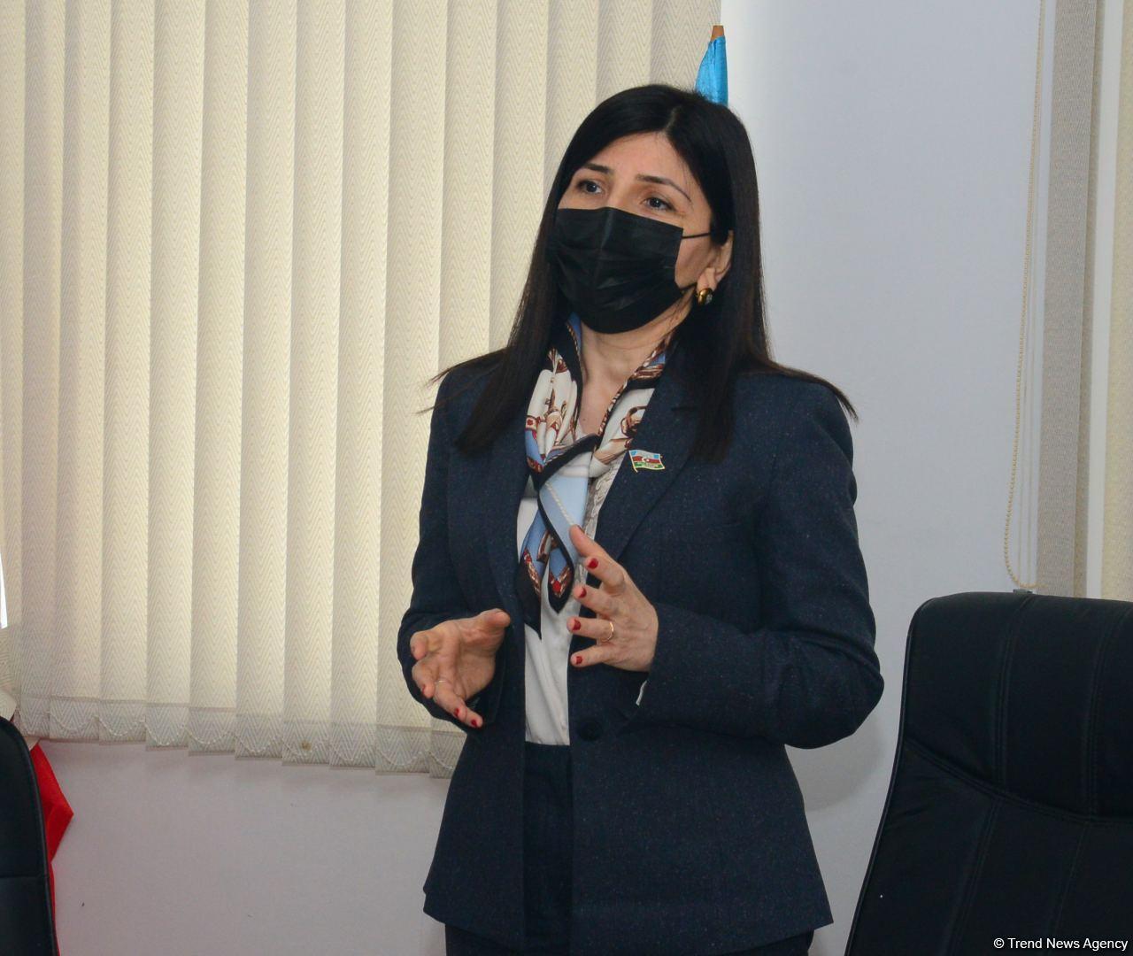 Депутат Севиль Микаилова встретилась с избирателями в Худате