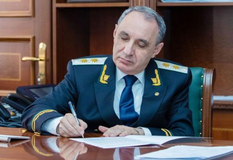 Генпрокурор Азербайджана назначил новых прокуроров