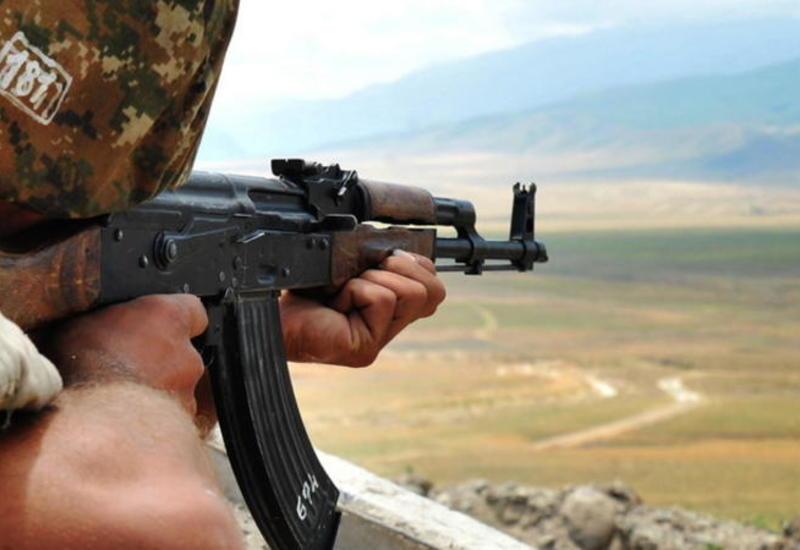Армяне обстреляли азербайджанские позиции на Кельбаджарском направлении