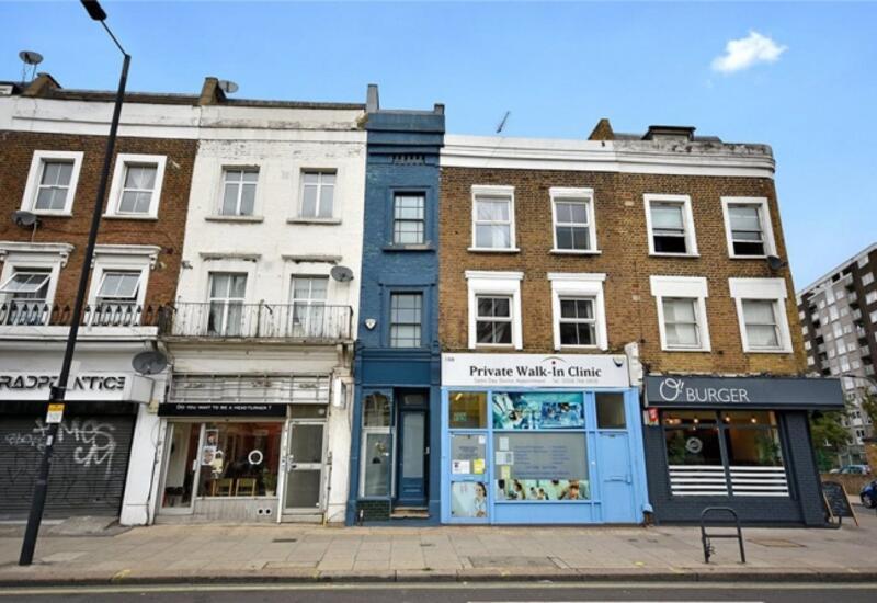 В Лондоне продаётся самый узкий дом
