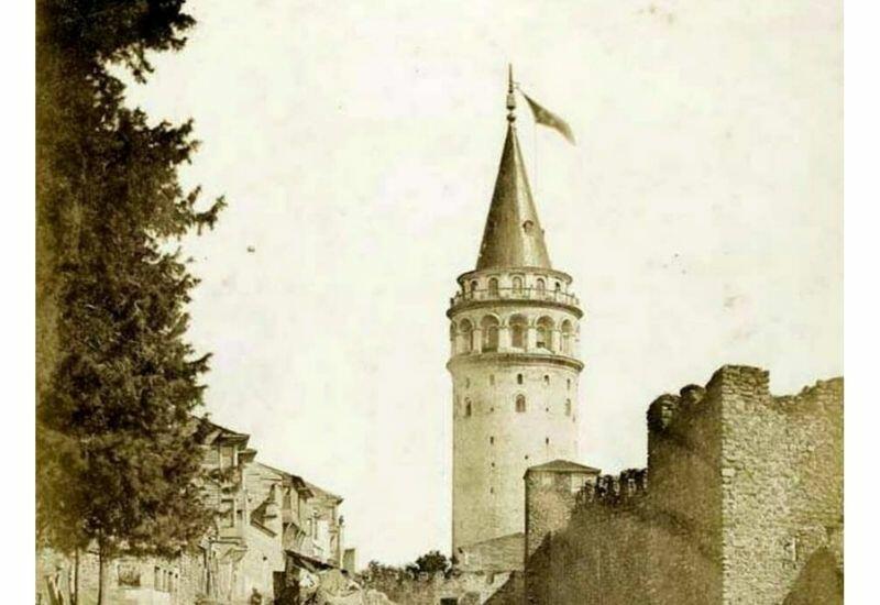 Галатская башня на странице музея Ичеришехер