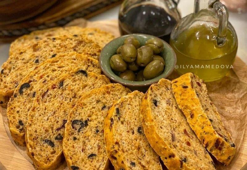 Рецепт итальянского хлеба от Или Мамедовой