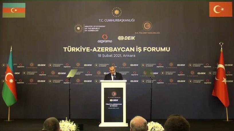 Турецко-Азербайджанский бизнес-форум в Анкаре