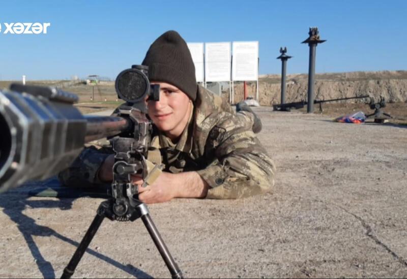 Боевой путь азербайджанского снайпера-разведчика