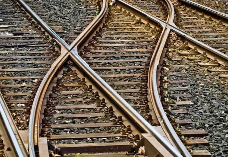 Первый в этом году блок-поезд, движущийся из Китая в Грузию, отправился из Баку