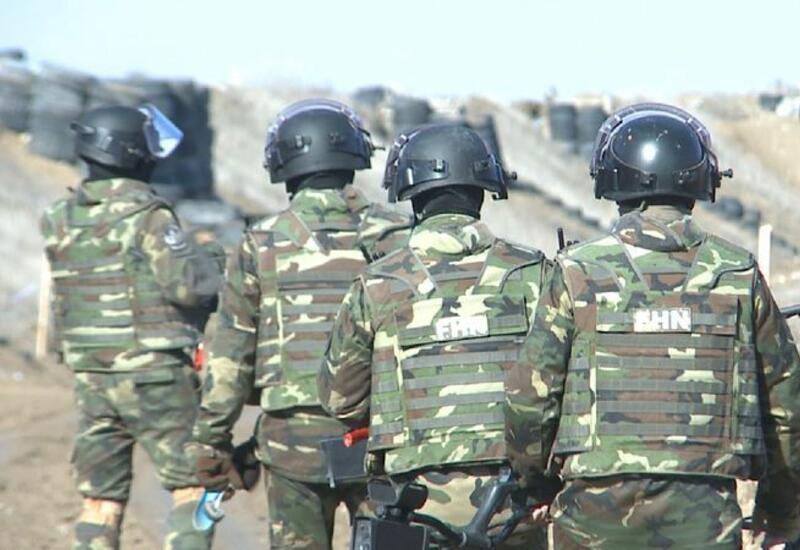 Продолжается очистка от мин освобожденных от оккупации земель