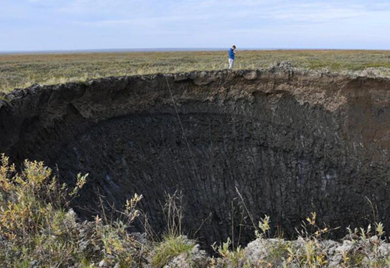 Ученые раскрыли секрет гигантских кратеров в российской тундре