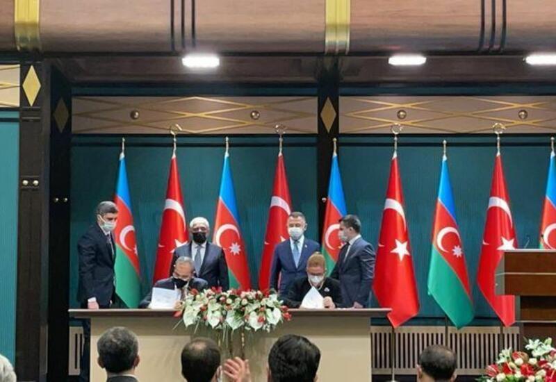 Между Азербайджаном и Турцией подписаны Протокол и План действий