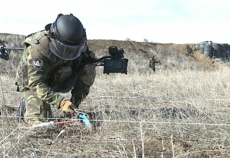 Вот как освобожденный Карабах очищается от мин