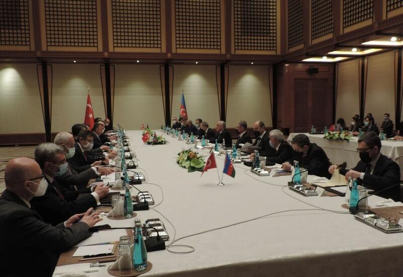В Анкаре проходит заседание Азербайджано-турецкой межправительственной комиссии по экономическому сотрудничеству