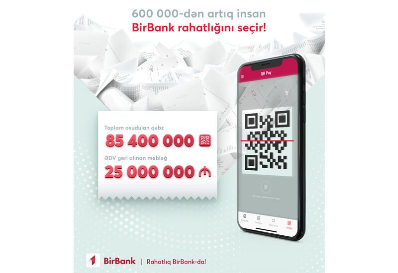 Для возврата НДС через BirBank более полумиллиона пользователей ввели 85,4 млн чеков